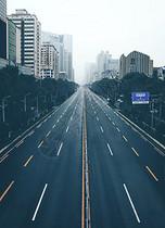 长沙芙蓉路城市街道图片