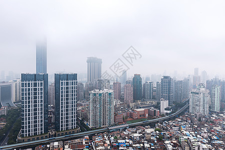 雾中厦门图片