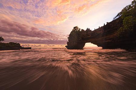 印尼海神庙海景图片