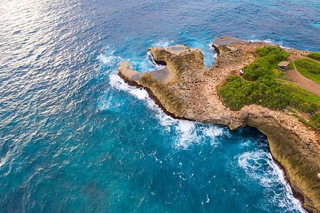 航拍印尼海岛图片