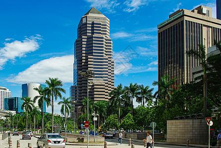 马来西亚吉隆坡街头风景图片
