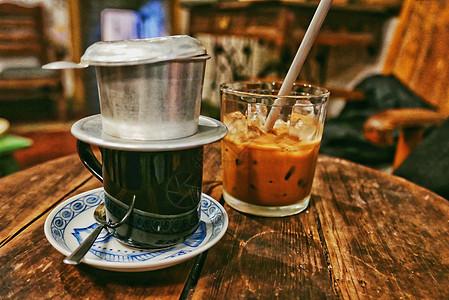 越南特色滴漏咖啡图片