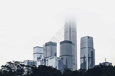 深圳福田中心区建筑背景图片