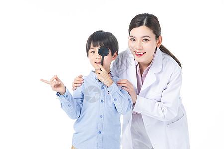 儿童体检视力检查图片