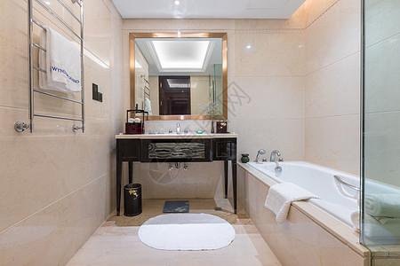 酒店浴室卫生间图片