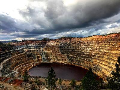 西班牙里奥廷托矿区图片