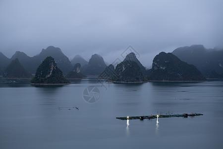 广西靖西市渠洋湖图片