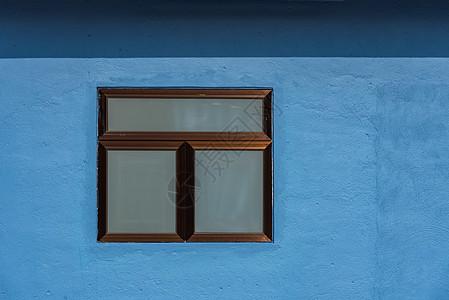 蓝色忧郁建筑背景图片