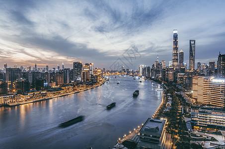 上海黄浦江两岸图片
