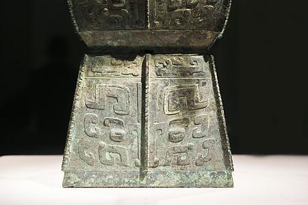 青铜器局部细节背景图片