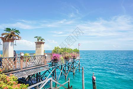 沙巴仙本那马布岛度假水屋酒店图片