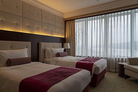 高级酒店的客房图片