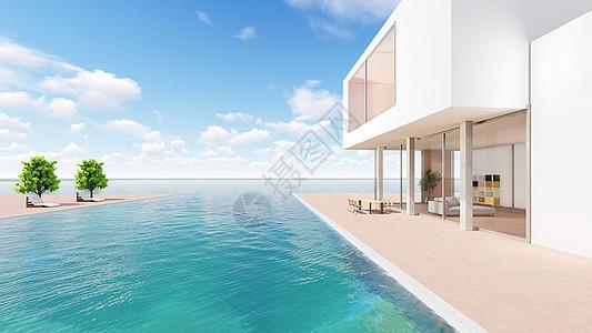 休闲舒适度假海景别墅图片