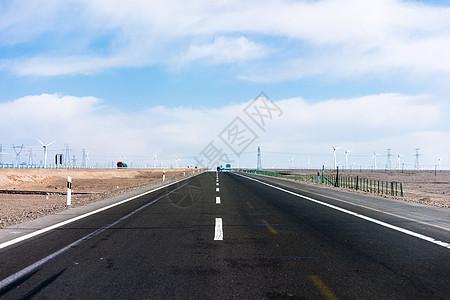 笔直的公路 图片