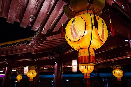 西安大唐芙蓉园花灯图片