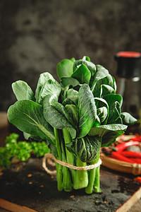 新鲜小青菜图片