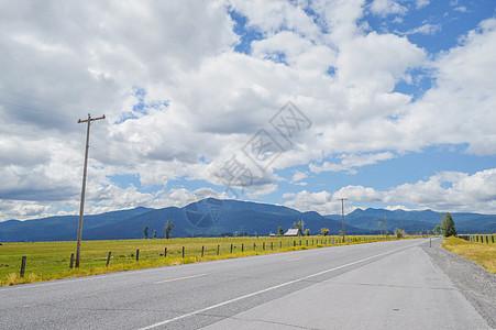 美国西部道路图片