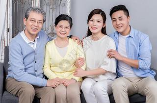 温馨一家人图片