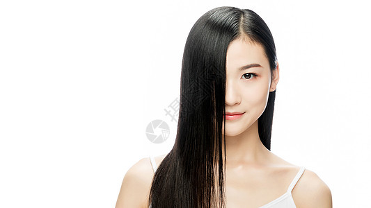 美女秀发图片