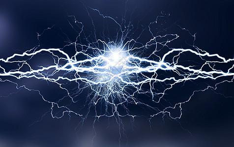电流质感背景图片