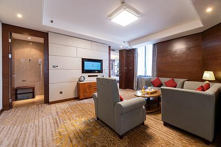 星级酒店套房沙发图片