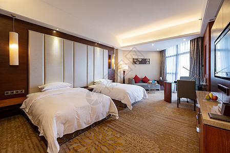 星级酒店客房图片