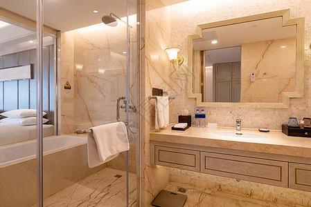 星级酒店卫生间图片
