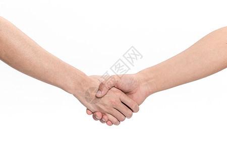 握手手势图片