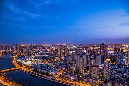 天津城市夜景图片