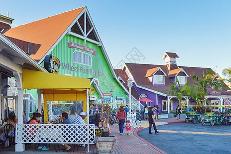 美国度假小镇图片