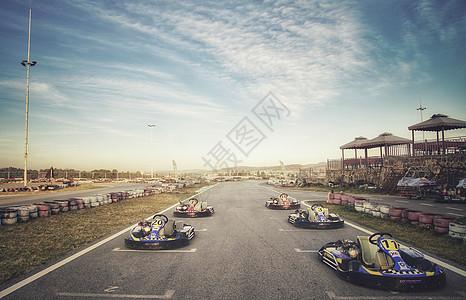 卡丁车比赛赛道图片