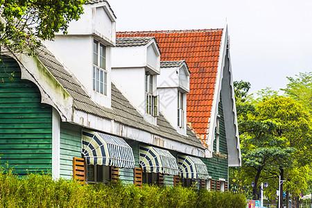 欧式建筑背景图片