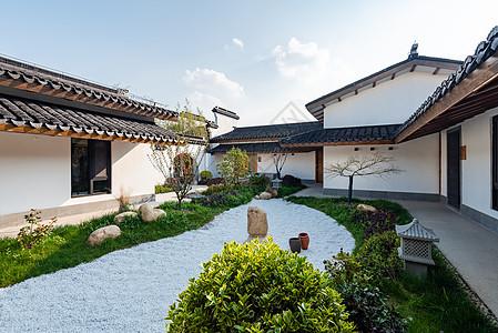 日式庭院环境图片