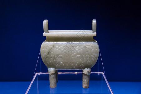 北京故宫博物院白玉鼎图片