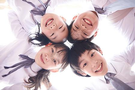 儿童节开心快乐的小学生图片
