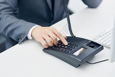 商务电话图片
