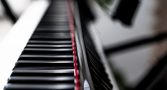 钢琴特写图片