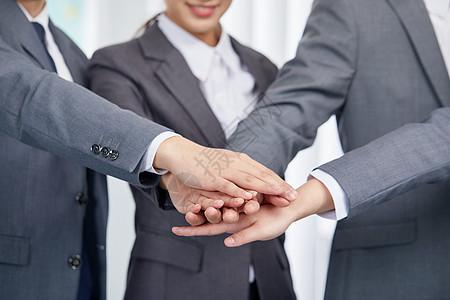 商务团队合作共赢概念图片