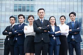 企业团队精英形象图片