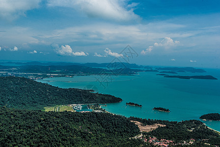 马来西亚兰卡威海岛风光图片