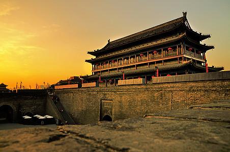 西安明城墙图片