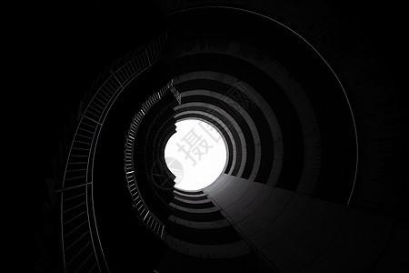 重庆市螺旋天井旋转视角图片