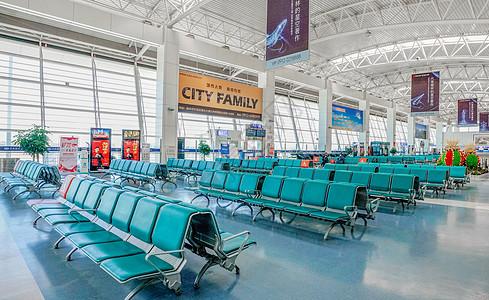 榆林榆阳机场候车厅图片