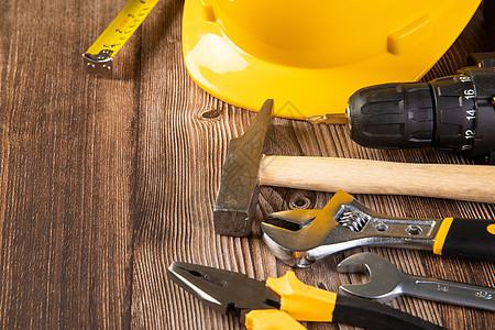 劳动节修理工具图片