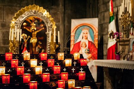 法国巴黎圣母院内观图片