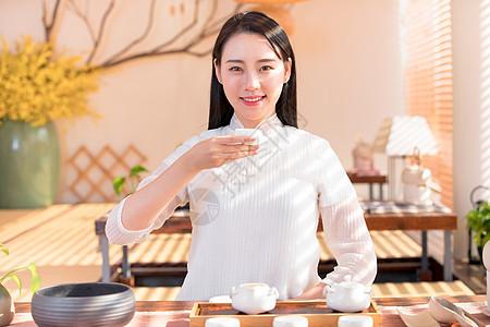 茶艺茶道美女图片