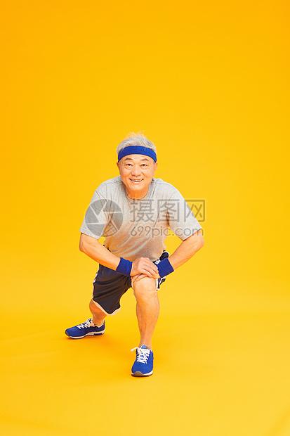 老人活力运动图片