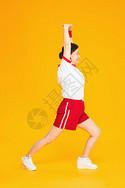 老人运动健身图片