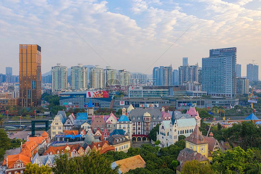 深圳世界之窗建筑群景区图片