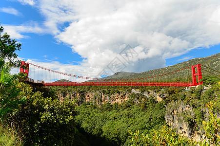 峡谷玻璃吊桥图片